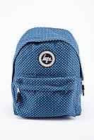 Рюкзак HYPE синий в белую точку