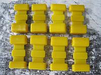 Подушка рессоры УАЗ 452 ПОЛИУРЕТАН желтый 8шт.