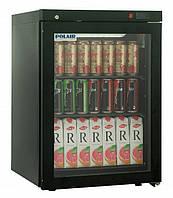 Холодильный шкаф POLAIR  DM102-Bravo черный с замком, фото 1