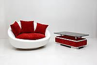 "Кресло (без поворотного механизма) Баунти. Фабрика мягкой мебели ""Creale"""