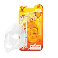 Питательная тканевая маска для лица с экстрактом мёда ELIZAVECCA HONEY DEEP POWER RINGER MASK PACK