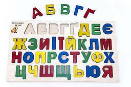 Рамка-вкладиш «Абетка» український алфавіт, Розумний Лис