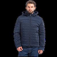 Мужская весенняя куртка Finn Flare A17-22042 темно-синего цвета