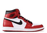 Баскетбольные кроссовки Air Jordan 1 Retro Chicago РЕПЛИКА ААА, фото 1