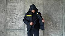 Куртка зимняя 2 в 1 Hybrid для ДСНС (съемный утеплитель флисовая кофта), фото 3