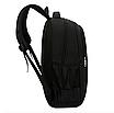 Рюкзак для ноутбука Fashion Sport городской Черный, фото 4