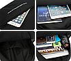 Рюкзак для ноутбука Fashion Sport городской Черный, фото 8