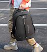 Рюкзак для ноутбука Fashion Sport городской Черный, фото 6