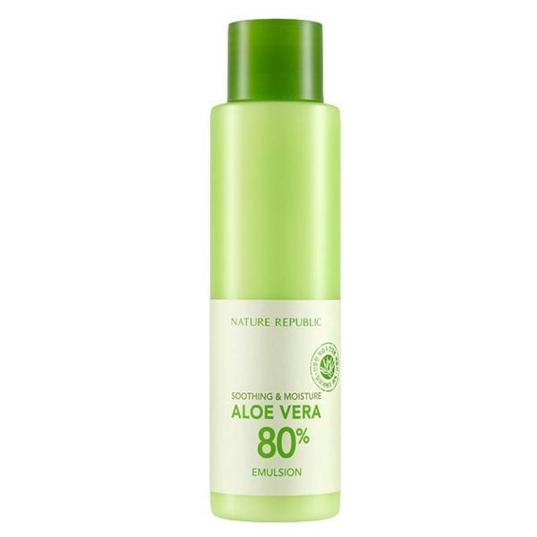 Nature Republic Увлажняющая Эмульсия Алоэ Soothing & Moisture Aloe Vera 80% Emulsion 160ml