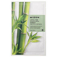Тканевая маска c экстрактом бамбука MIZON JOYFUL TIME ESSENCE MASK, 1шт.