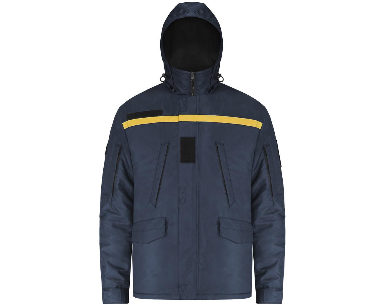 Куртка зимняя 2 в 1 Hybrid для ДСНС (съемный утеплитель флисовая кофта)