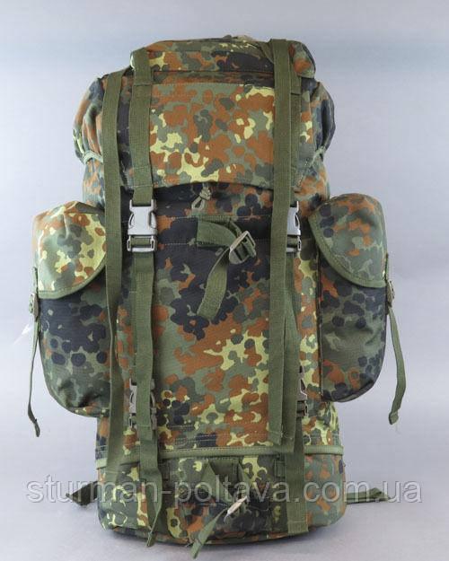 Рюкзак  армейский BW  65 литров флектарн 100 % нейлон   (Mil-tec) Германия
