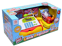 Детский кассовый аппарат. Игровой набор магазин с кассой