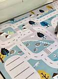"""Безкоштовна доставка! Килим в дитячу """"Лісові доріжки"""" утеплений килимок мат (1.5*2 м), фото 2"""