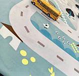 """Безкоштовна доставка! Килим в дитячу """"Лісові доріжки"""" утеплений килимок мат (1.5*2 м), фото 3"""