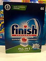 Таблетки для посудомойки Finish all in one  66 штук