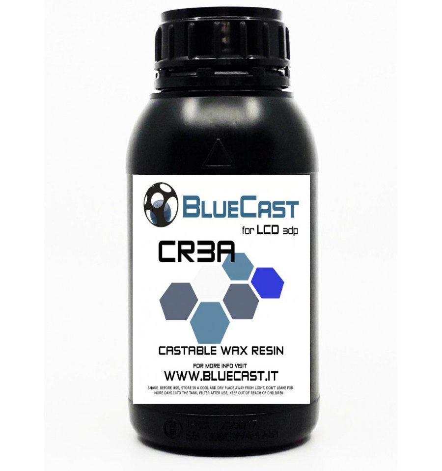 Фотополімер BlueCast CR3A для LCD / DLP 3D принтерів 0,5 л