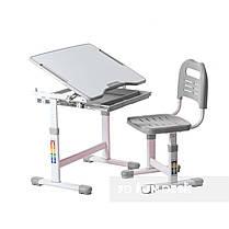 Індивідуальний комплект парта та стілець-трансформери FunDesk Sole Grey, фото 3
