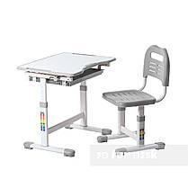 Індивідуальний комплект парта та стілець-трансформери FunDesk Sole Grey, фото 2