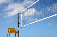 Сітка волейбол ПП100х100х2.8 сетка безузловая волейбольная