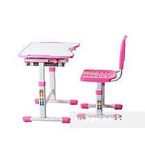 Індивідуальний комплект парта та стілець-трансформери FunDesk Sole Pink, фото 3
