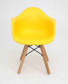 Стул детский Leon Eames kids, желтый