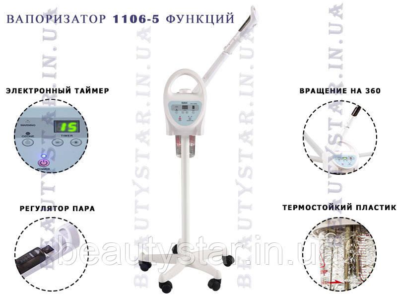 Вапоризатор з режимом озонування і функцією ароматерапії B. S. Ukraine 1106 +система анти-спрей