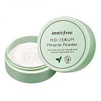 Матирующая минеральная пудра Innisfree No Sebum Mineral Powder, 5 г