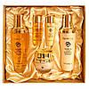 Набор по уходу за кожей лица на экстракте меда и золота FARMSTAY HONEY & GOLD ESSENTIAL SKIN CARE 3SET