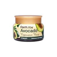 Осветляющий лифтинг-крем с экстрактом авокадо FARMSTAY AVOCADO PREIMUM PORE CREAM, 100 мл