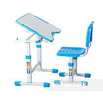 Комплект парта и стул-трансформеры FunDesk Sole II Blue, фото 3