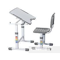 Комплект парта і стілець-трансформери FunDesk Sole II Grey, фото 2