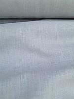 Льняная костюмная ткань светло-  серого цвета, фото 1