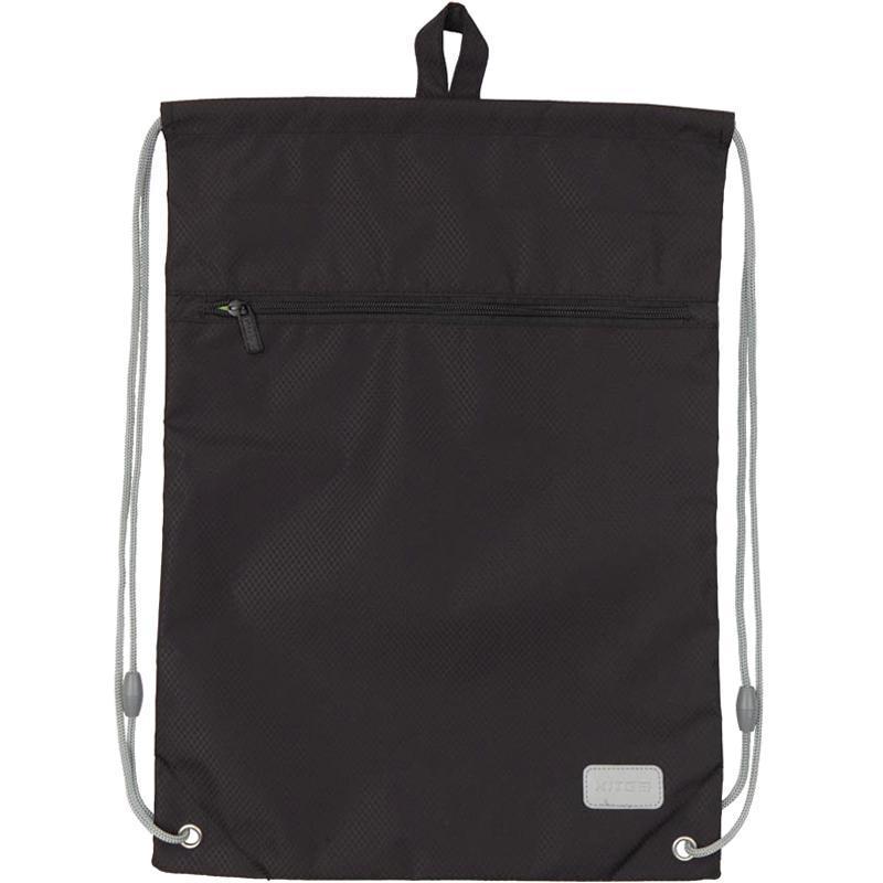 Сумка для обуви школьная Kite Education 601M-34 Smart чёрная