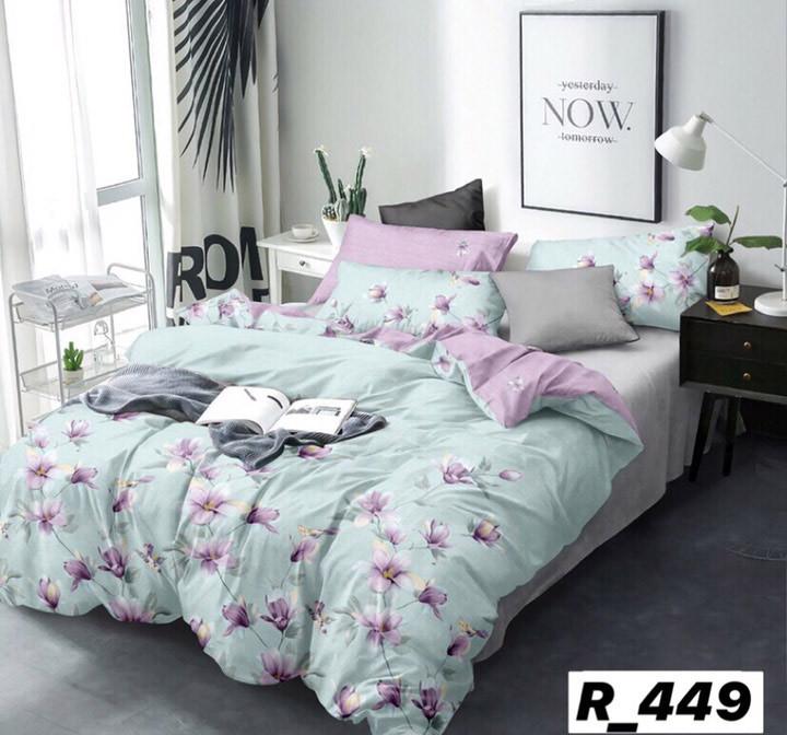 Комплект постельного белья Ранфорc семейный размер
