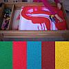 Кварцевый песок для рисования (цветной) 1 кг