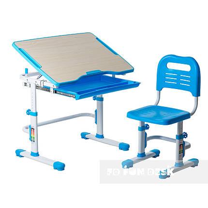 Комплект парта + стул трансформеры Vivo Blue FUNDESK, фото 2
