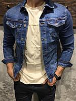 Мужская джинсовая куртка «Its» blue, фото 1