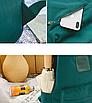 Рюкзак женский городской Sunshine Зеленый с брелком, фото 9