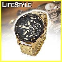 Мужские наручные часы Diesel Brave Gold