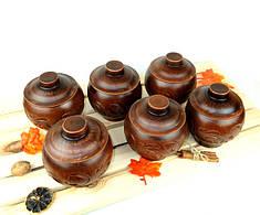 Наборы горшочков для духовки из керамики