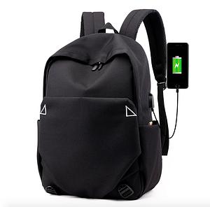 Рюкзак городской для ноутбука Fashion Casual Черный