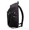 Рюкзак городской для ноутбука Fashion Casual Черный, фото 4