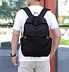 Рюкзак городской для ноутбука Fashion Casual Черный, фото 8
