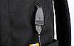 Рюкзак городской для ноутбука Fashion Casual Черный, фото 7