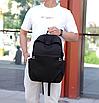 Рюкзак городской для ноутбука Fashion Casual Черный, фото 9