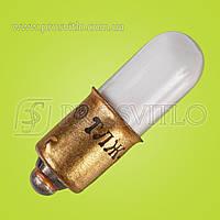 Лампа ТЛЗ 1-2 зеленая Е10, B9s