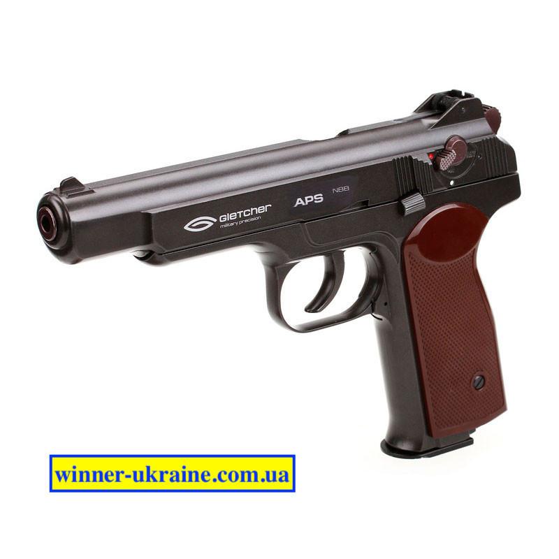 Пневматичний пістолет Gletcher APS Blowback