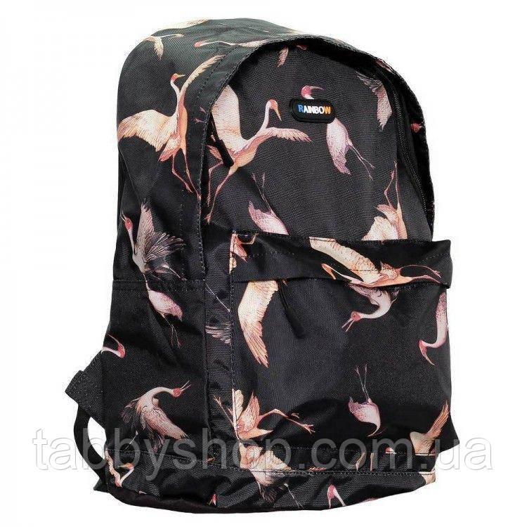 Рюкзак школьный подростковый RAINBOW Teens Flamingo