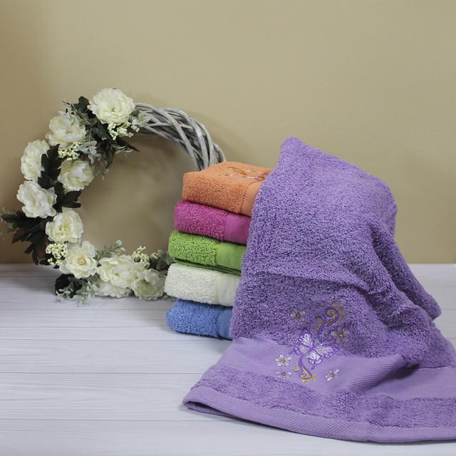 Полотенце из махры